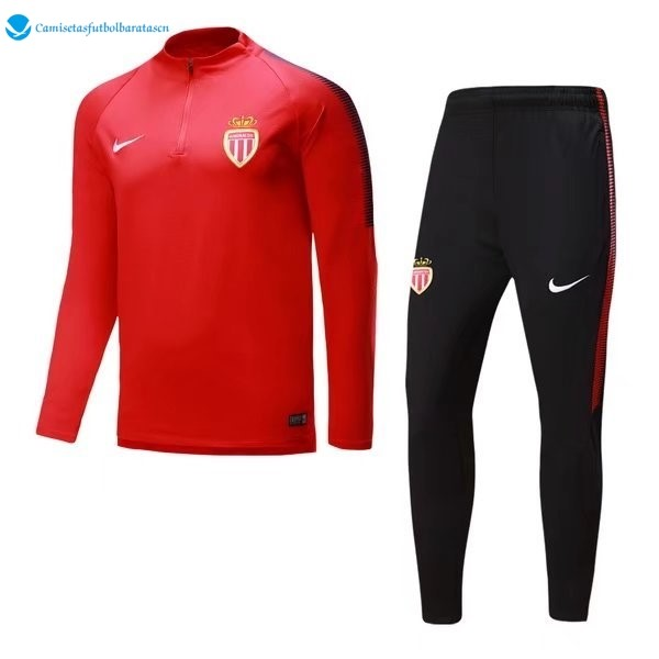 Futbol Chandal AS Monaco 2017/2018 Rojo B